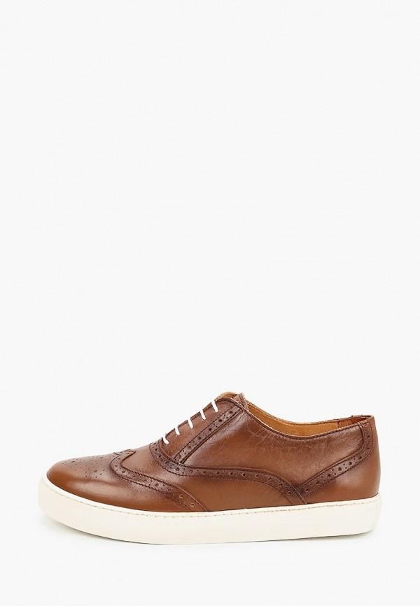мужские туфли storm, коричневые