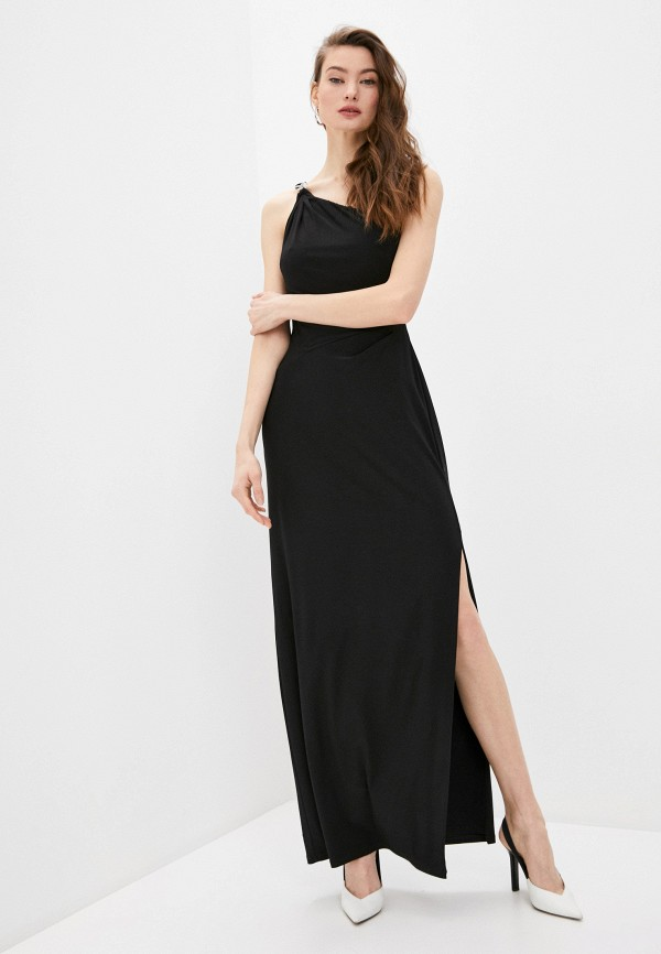 женское вечерние платье lauren ralph lauren, черное