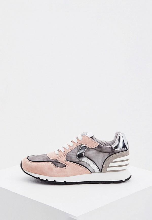 женские кроссовки voile blanche, розовые