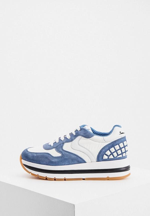 женские кроссовки voile blanche, голубые