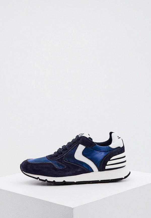 женские кроссовки voile blanche, синие