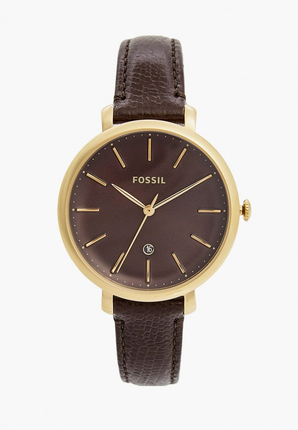 женские часы fossil, красные
