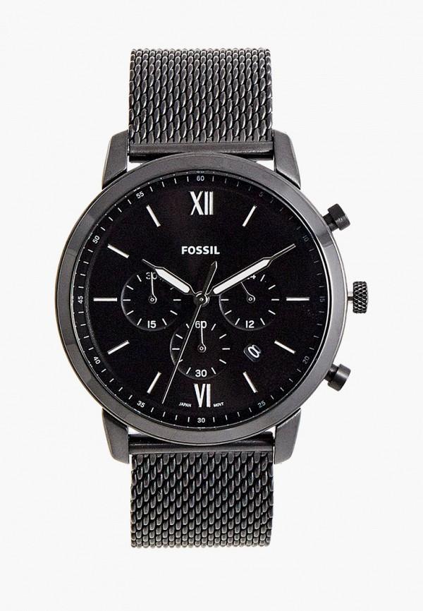 Часы Fossil FS5707, цвет черный. Цена: 17699 р. Коллекция: Весна-лето 2021, Пол: men, Сезонность: мульти, Страна-изготовитель: Китай - фото 1