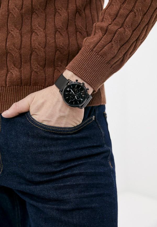 Часы Fossil FS5707, цвет черный. Цена: 17699 р. Коллекция: Весна-лето 2021, Пол: men, Сезонность: мульти, Страна-изготовитель: Китай - фото 5