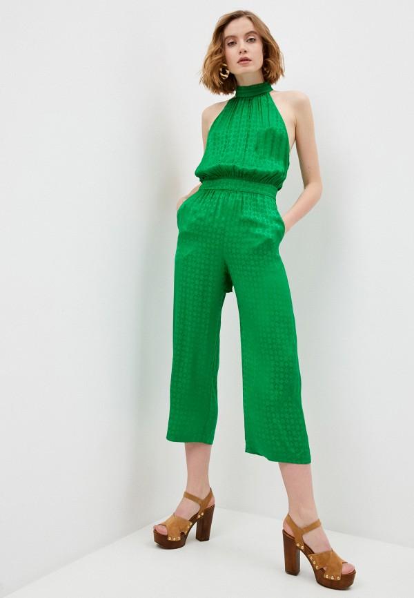женский комбинезон pinko, зеленый
