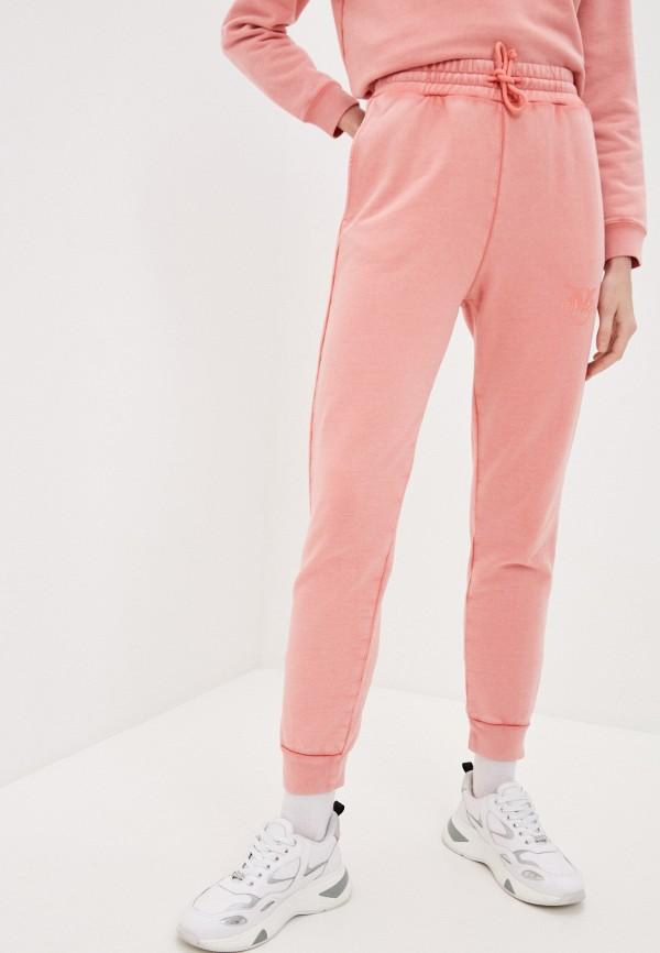 женские спортивные брюки pinko, розовые