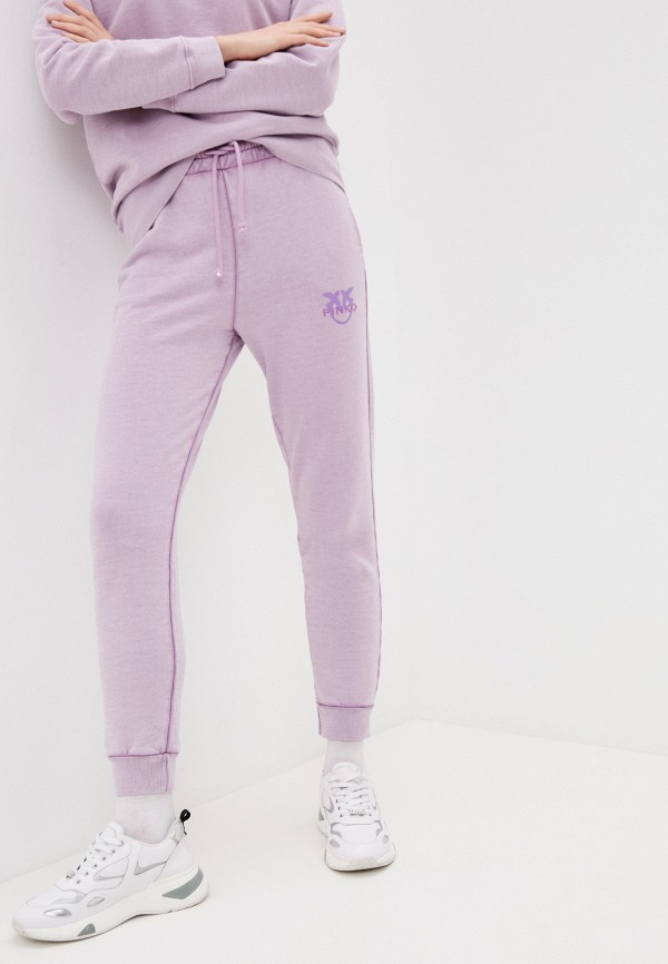 женские спортивные брюки pinko, фиолетовые