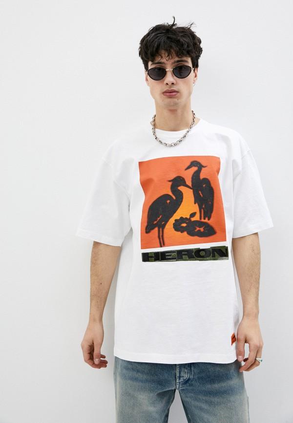 мужская футболка heron preston, белая