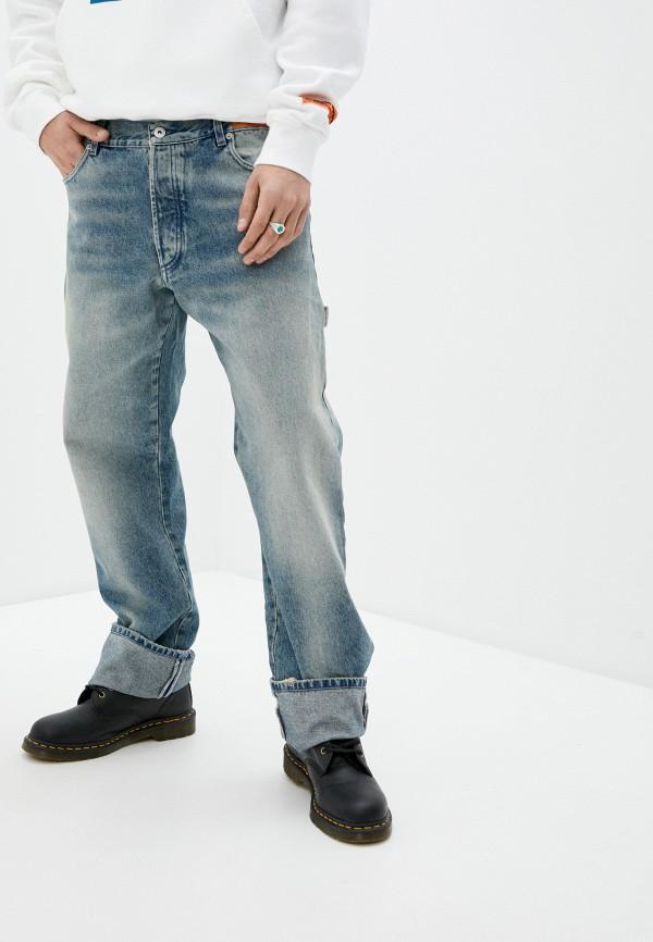 мужские прямые джинсы heron preston, голубые