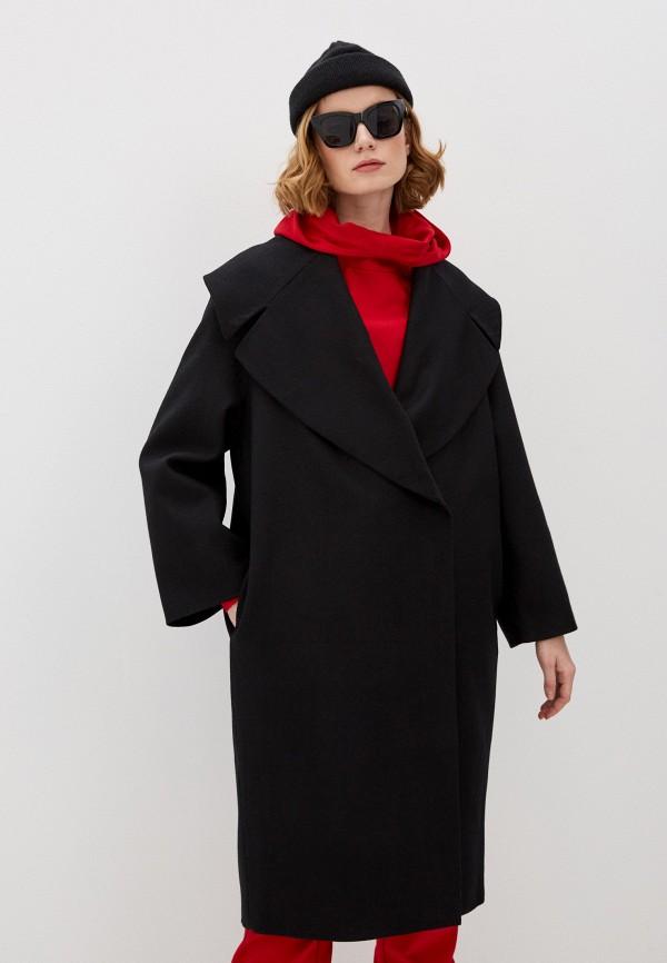 женское двубортные пальто trendyangel, черное