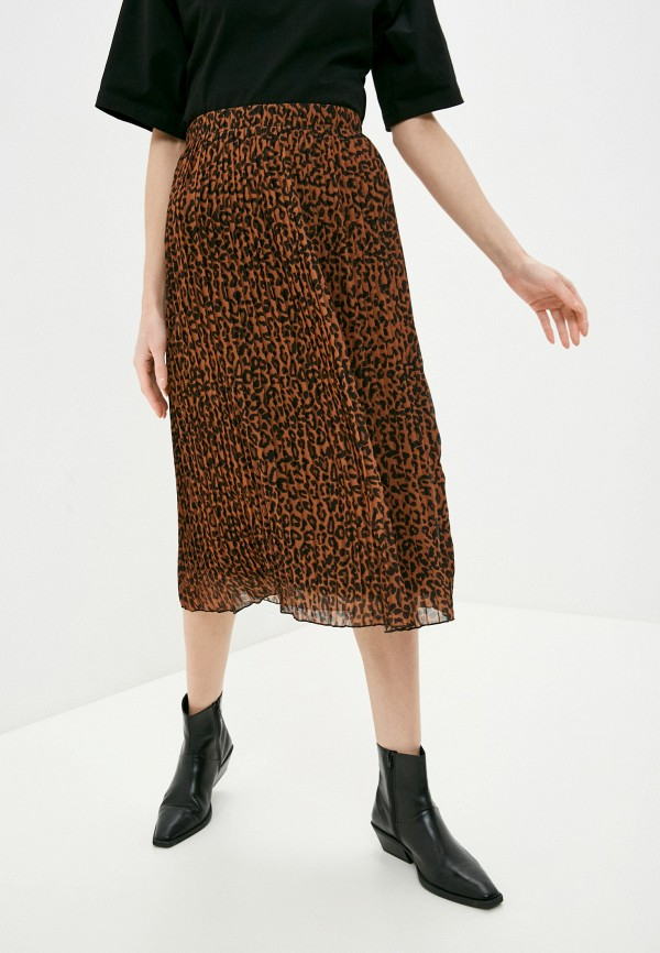 женская юбка zabaione, коричневая