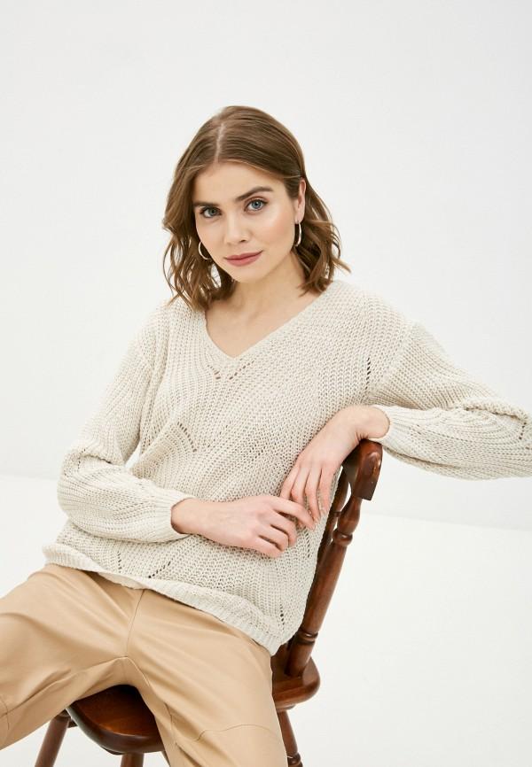 женский пуловер zabaione, бежевый
