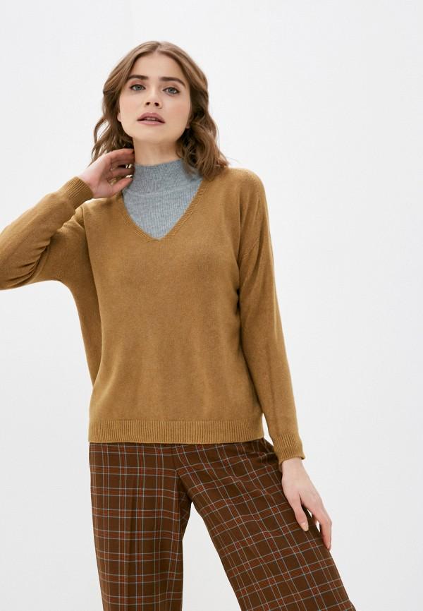 женский пуловер zabaione, коричневый