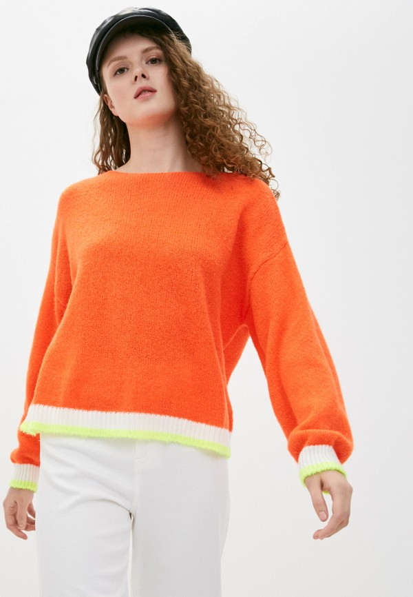 женский джемпер zabaione, оранжевый