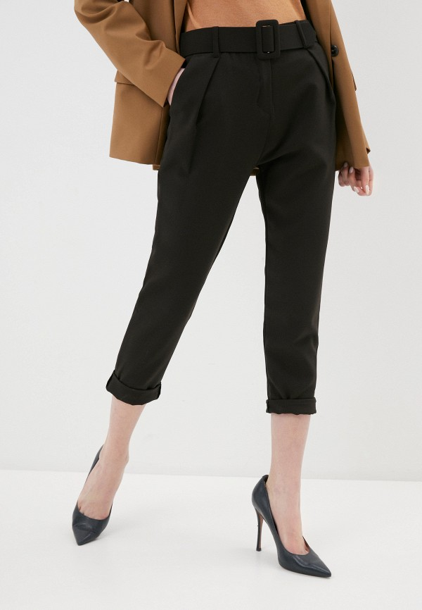 женские классические брюки zabaione, черные