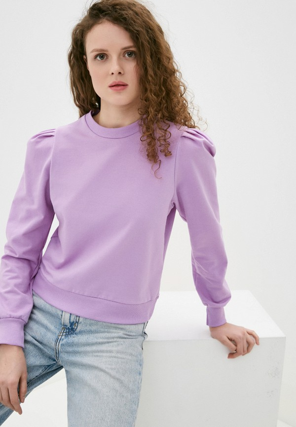 женский свитшот haily's, фиолетовый