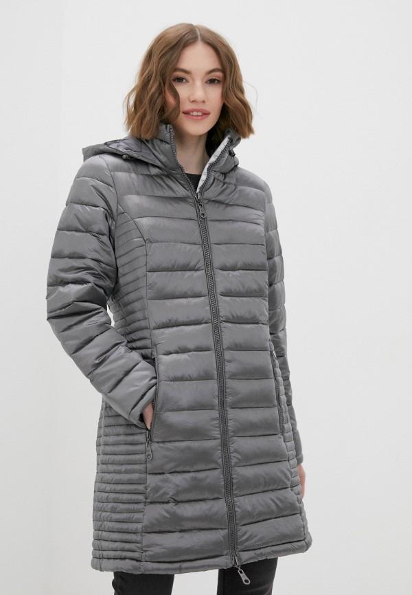 женская куртка zabaione, серая