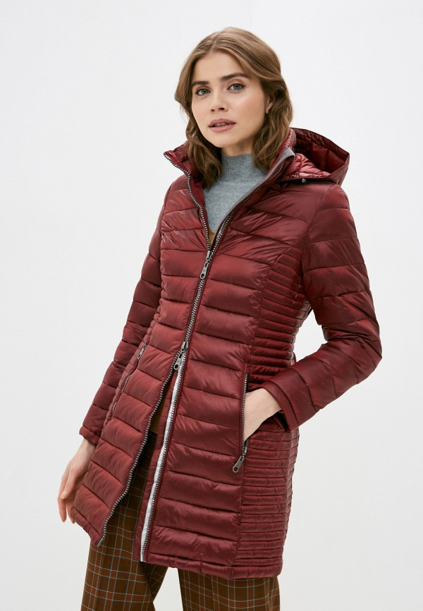 женская куртка zabaione, красная