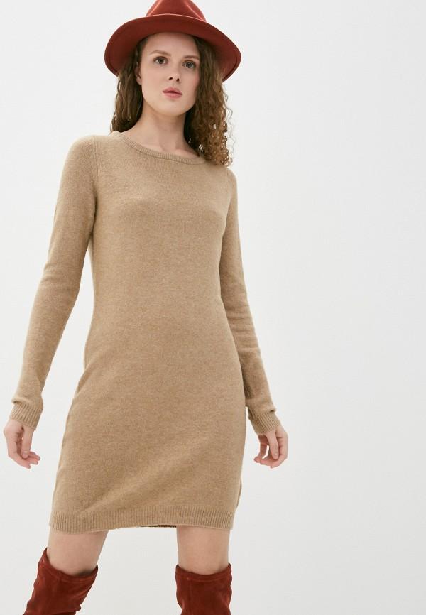 женское платье haily's, бежевое