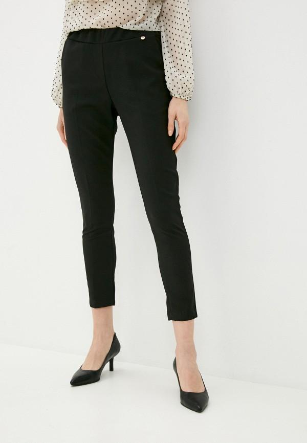 женские брюки zabaione, черные