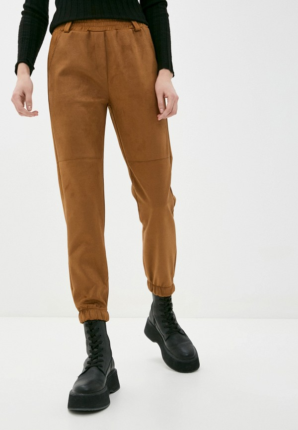 женские спортивные брюки haily's, коричневые