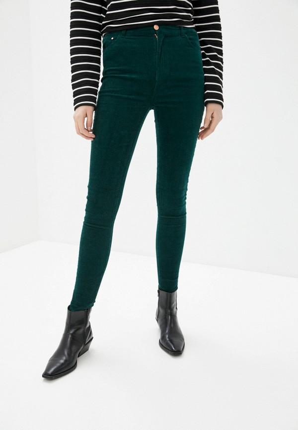 женские повседневные брюки zabaione, зеленые