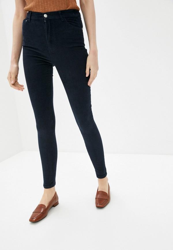женские повседневные брюки zabaione, синие
