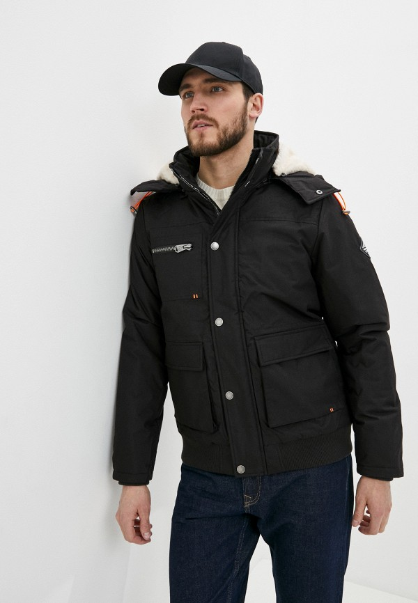 мужская куртка haily's, черная
