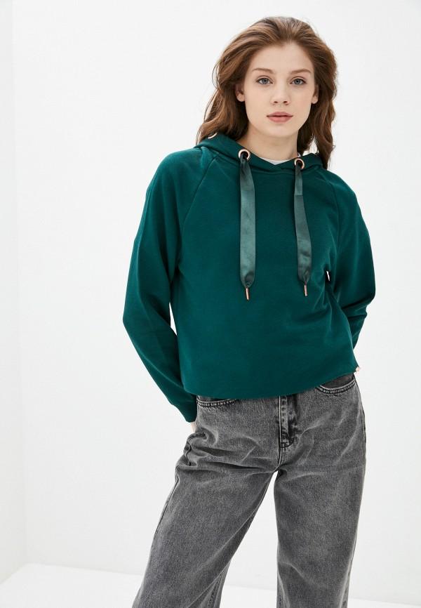 женские худи zabaione, зеленые