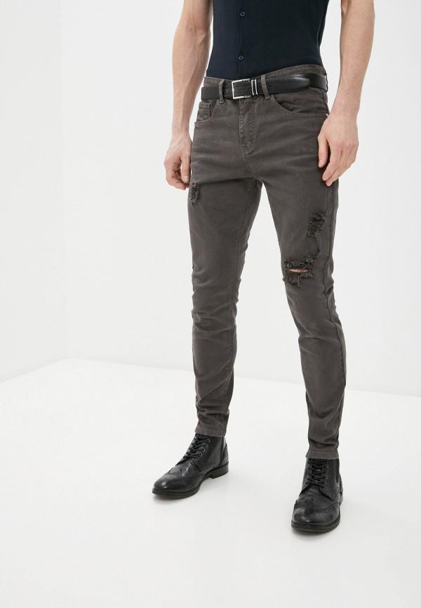 мужские зауженные джинсы haily's, серые
