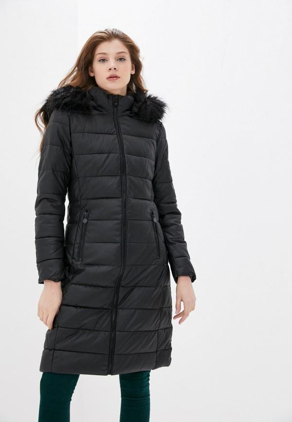женская куртка zabaione, черная