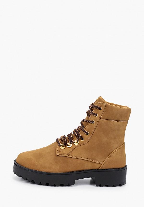 женские ботинки haily's, коричневые