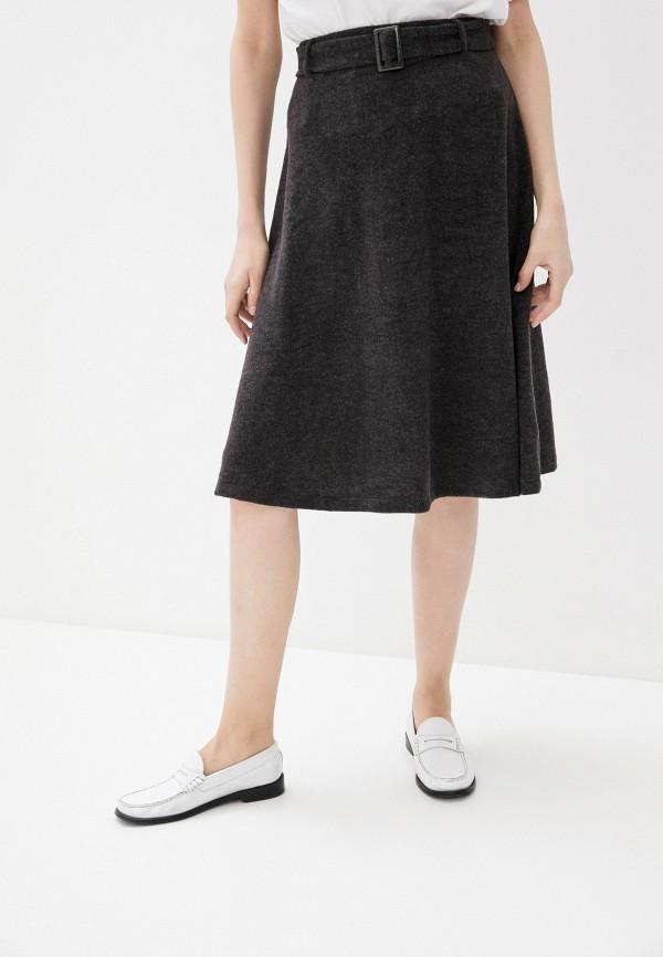 женская юбка zabaione, серая