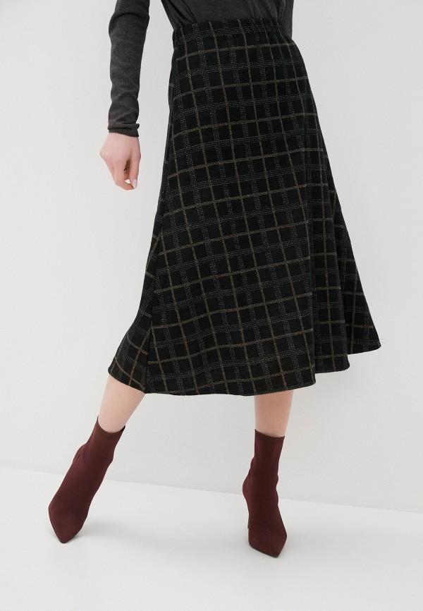 женская юбка zabaione, черная