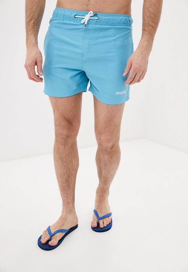 мужские спортивные шорты regatta, голубые