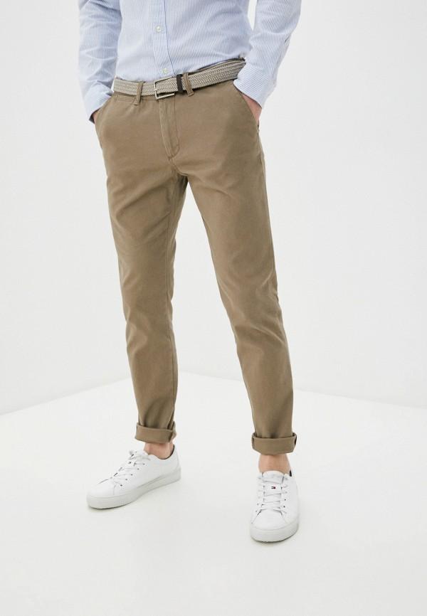мужские брюки чинос j. hart & bros, бежевые