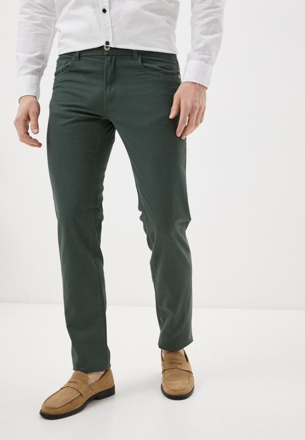 мужские повседневные брюки j. hart & bros, зеленые