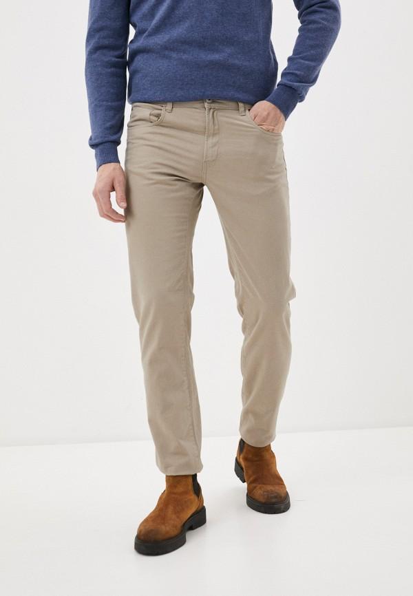 мужские брюки j. hart & bros, бежевые