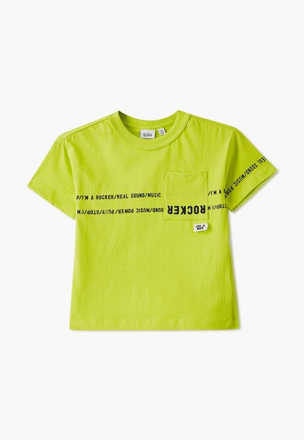 футболка с коротким рукавом blukids для мальчика, желтая