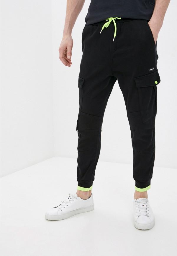 мужские спортивные брюки desigual, черные