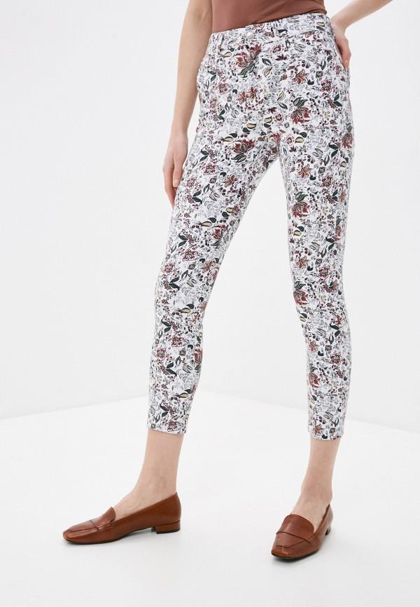 женские повседневные брюки desigual, белые