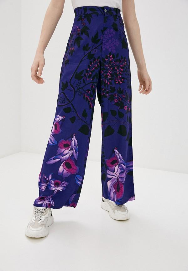 женские брюки desigual, фиолетовые
