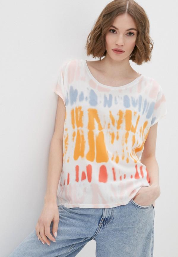 женская футболка desigual, белая