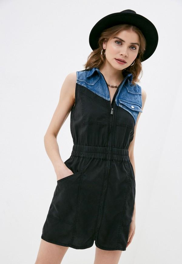 женское повседневные платье desigual, черное