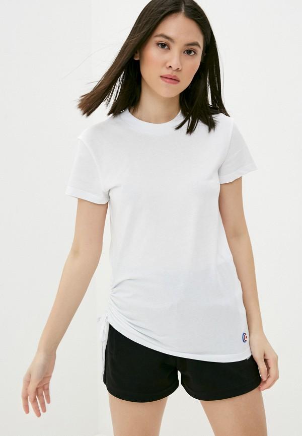 женская футболка colmar, белая
