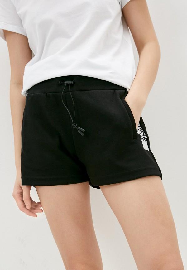 женские спортивные шорты colmar, черные
