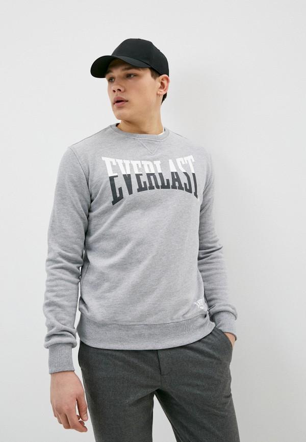 мужской свитшот everlast, серый