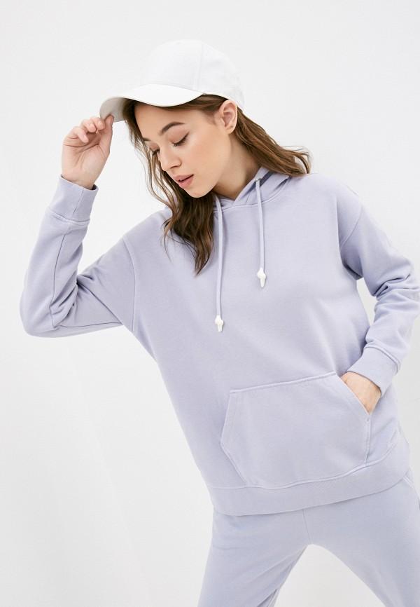 женские худи s.oliver, фиолетовые