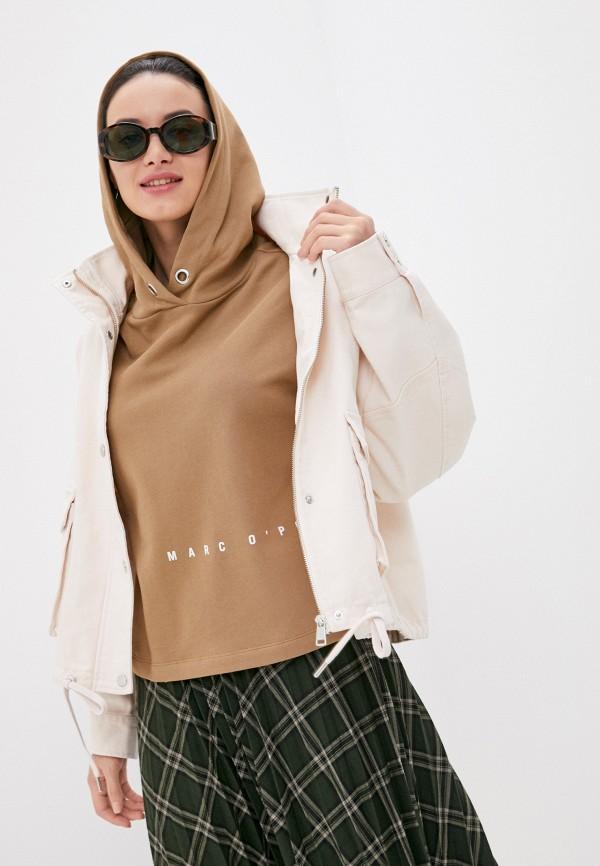 женская джинсовые куртка s.oliver, розовая