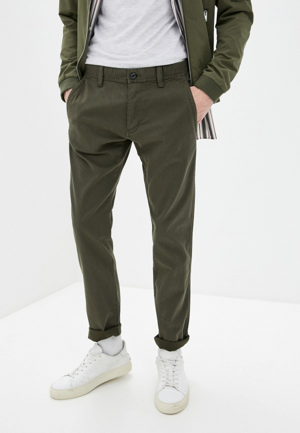 мужские брюки чинос s.oliver, хаки